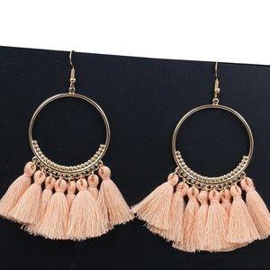 💘 fringe earrings
